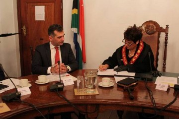 Agreement of Intent was drawn up between Kakheti Region and Cape Winelands District